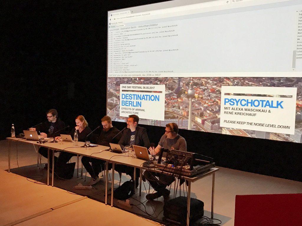 Psychotalk live in der Berlinischen Galerie